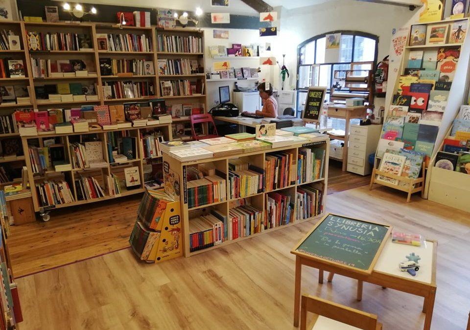 L'Egarenca col·labora amb Synusia i amb el sector llibreter de proximitat