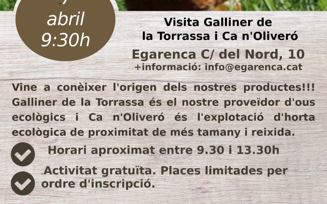 Sortida 7abril: Galliner de la Torrassa  + Ca n'Oliveró